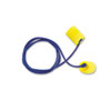 E-A-R Classic Earplugs, Corded, PVC Foam, Yellow, 200 Pairs/Box