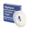 Highland Invisible Permanent Mending Tape, 1/2