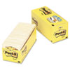 Post-it Notes Cabinet Pack, 3 x 3, Canary Yellow, 18 90-Sheet Pads/Pack