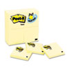 Post-it Notes Original Notes, 3 x 3, Canary Yellow, 24 90-Sheet Pads/Pack