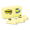 Original Notes, 3 x 5, Canary Yellow, 24 90-Sheet Pads/Pack