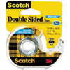 Scotch 667 Double-Sided Removable Office Tape and Dispenser, 3/4