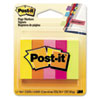 Page Markers, Five Neon Colors, 5 Pads of 100 Strips/Each, 500/Pack