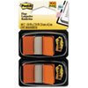 Post-it Flags Standard Tape Flags in Dispenser, Orange, 100 Flags/Dispenser