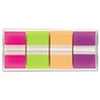Flags in Portable Dispenser, Bright, 160 Flags/Dispenser