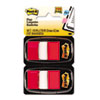 Post-it Flags Marking Flags in Dispensers, Red, 50 Flags/Dispenser, 12 Dispensers/Pack