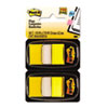 Marking Flags in Dispensers, Yellow, 12 50-Flag Dispensers/Pack