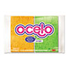 O-Cel-O Sponge w/3M Stayfresh Technology, 4-7/10 x 3 x 3/5, 4/Pack