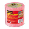 "Labelgard Shipping Label System, 2.5 Mil Pink Tint Film Tape, 4"" x 72 yd. Roll"
