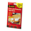 ScotchPad Label Protection Tape Pads, 4 x 6, 25/Pad, 2 Pads/Pack