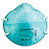 N95 Particle Respirator 8612F Mask, 2/Pack