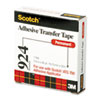 Scotch Adhesive Transfer Tape Roll, 3/4 Wide x 36 Yards