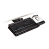 "Easy Adjust Keyboard Tray, Highly Adjustable Platform, 23"" Track, Black"