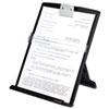 3M Fold-Flat Freestanding Desktop Copyholder, Plastic, 150 Sheet Capacity, Black