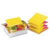 Post-it Pop-up Notes Pop-up Note Dispenser with Designer Daisy Insert, One 45-Sheet Pad,