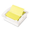 Clear Top Pop-up Note Dispenser for 3 x 3 Self-Stick Notes, White