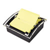 Post-it Pop-up Notes Clear Top Pop-up Note Dispenser for 3 x 3 Self-Stick Notes, Black