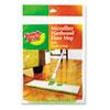 Scotch-Brite Hardwood Floor Mop Refill, Microfiber