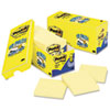 Post-it Pop-up Notes Cabinet Pack, Pop-up Notes, 3 x 3, Canary Yellow, 18 90-Sheet Pads/Pack