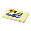 Post-it Pop-up Notes Pop-Up Note Refill, 3 x 5, Canary Yellow, 100 Sheets