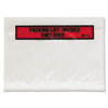 Top Print Packing List Envelope, 7 x 5 1/2, White, 1000/Carton
