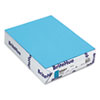 BriteHue Multipurpose Colored Paper, 24lb, 8-1/2 x 11, Blue, 500/Ream