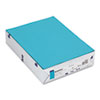 BriteHue Multipurpose Colored Paper, 24lb, 8-1/2 x 11, Sea Blue, 500 Sheets/RM