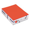 BriteHue Multipurpose Colored Paper, 24lb, 8-1/2 x 11, Orange, 500 Sheets/Ream