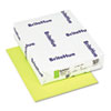 BriteHue Multipurpose Colored Paper, 24lb, 8-1/2 x 11, Ultra Lime, 500 Shts/Rm