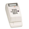 Max Electronic Checkwriter, 10-Digit, 4-3/8 x 9-1/8 x 3-3/4
