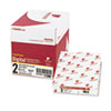 Nekoosa Fast Pack Digital Carbonless Paper, 8-1/2 x 11, White/Canary, 2500/Carton