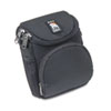 Camcorder/Digital Camera Case, Ballistic Nylon, 5 x 3-1/2 x 6-5/8, Black