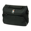 Camcorder/Digital Camera Case, Ballistic Nylon, 10-5/8 x 4-7/8 x 8-1/4, Black