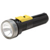 AbilityOne 6230001631856 Flashlight, Watertight, D Batteries, Black