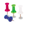 AbilityOne 7510012073978 Color Push Pins, Plastic, Assorted, 3/8