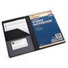 AbilityOne 7510014547388 Vinyl Steno Pad Holder, Vinyl/Foam, 6