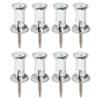 AbilityOne 7510009400935 Push Pins, Plastic, Clear, 3/8
