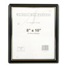 EZ Mount Document Frame, Plastic, 8 x 10, Black