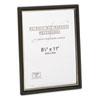 Nu-Dell EZ Mount Document Frames, Plastic, 8-1/2 x 11, Black, 18/Carton