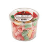 Office Snax Assorted Fruit Slices Candy, Individually Wrapped, 2 lb Plastic Tub