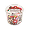 Office Snax Soft & Chewy Mix, Assorted Soft Candy, 2 lb Plastic Tub