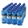 Office Snax Bottled Spring Water, 1/2 Liter, 24 Bottles/Carton