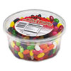 Office Snax Jelly Beans, Assorted Flavors, 2 lb Tub