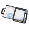 Officemate Portable Storage Clipboard Case, 3/4