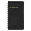 "Recycled Weekly Planner, Black, 2 1/2"" x 4 1/2"", 2013"