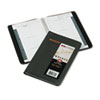 AT-A-GLANCE Recycled Weekly Appointment Book, 4-7/8 x 8, Black, 2015