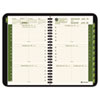 AT-A-GLANCE Recycled Weekly/Monthly Appointment Book, Green, 4 7/8