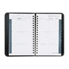 AT-A-GLANCE Recycled Weekly Appointment Book, Black, 3 3/4