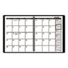 AT-A-GLANCE Monthly Planner, Black, 6 7/8