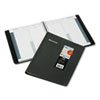 Recycled 24-Hour Daily Appointment Book, 8-1/2 x 11, Black, 2013